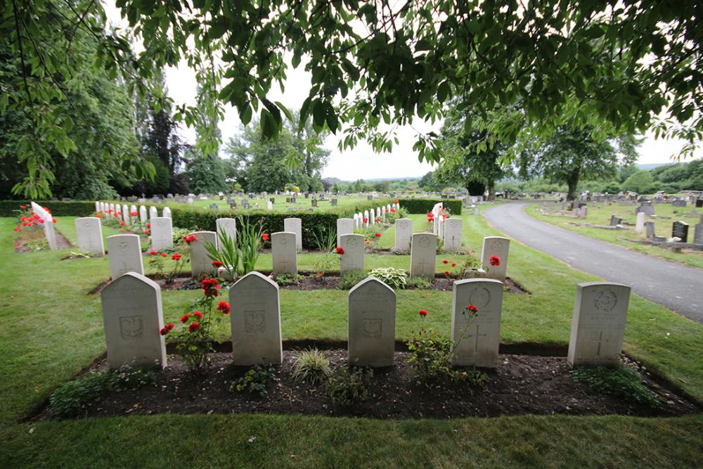 War graves plot