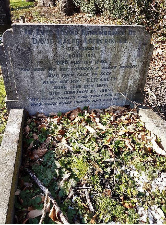 DAVID RALPH ABERCROMBIE  1870 – 1960