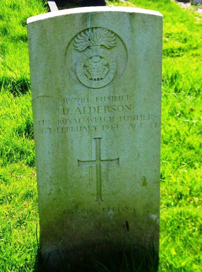 DOUGLAS D ALDERSON 1919 – 1944