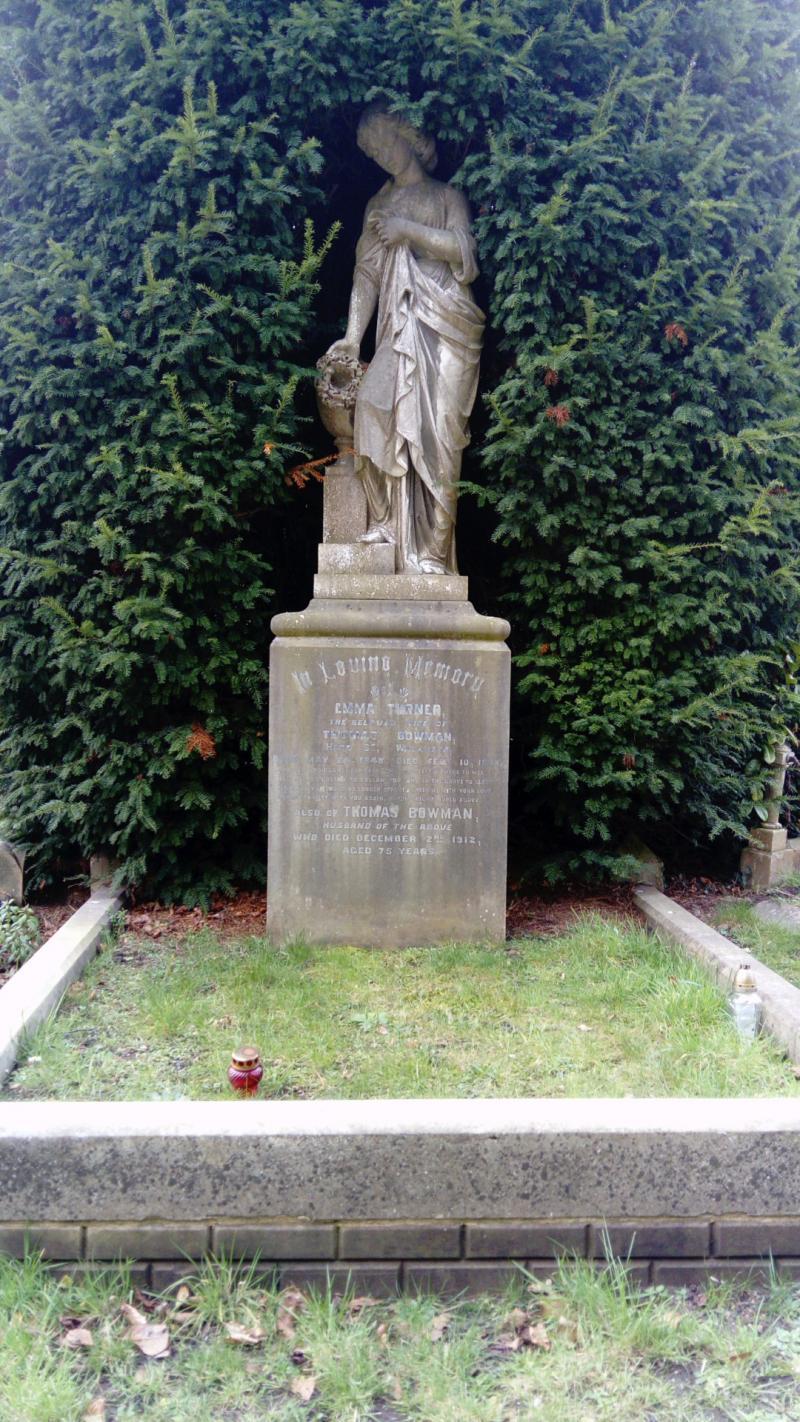 ALFRED EDWARD BOWMAN 1864 -1901